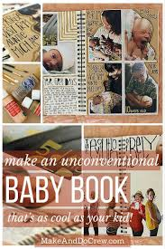 baby 1st year book diy creative baby book ideas and tips