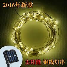 Copper String Lights by Solar Powered String Light Amir 100 Leds Starry String Lights