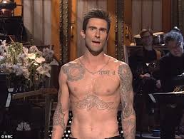 adam levine finds space for 3 more tattoos on his already inked