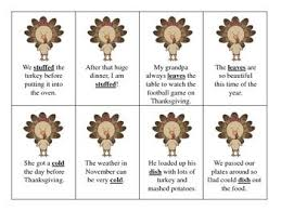 257 best slp thanksgiving images on therapy ideas