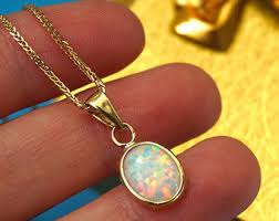 opal necklace price images 14k opal pendant etsy jpg