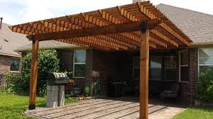 Attaching Pergola To House by 16x18 Attached To House Yelp