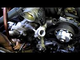 timing belt replacement 2006 toyota tundra 4 7l 2uz fe v8 youtube