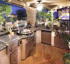 outdoor bbq kitchen ideas outdoor kitchen ideas for small spaces grey oak wood dining table