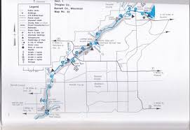 Wisconsin Rapids Map by Bwca Canoeing The St Croix Boundary Waters Listening Point