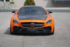 mercedes amg orange mansory s mercedes amg gt s gets