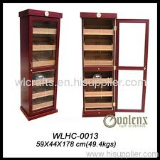 cigar humidor display cabinet the lemans cigar cabinet humidor wlhc 0013 manufacturer from china