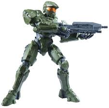 amazon com sprukits halo the master chief action figure model kit