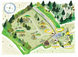 Yurt Floor Plan by Glamping Site Near Welshpool Exclusive Use Available