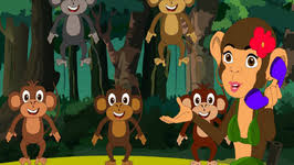 No More Monkeys Jumping On The Bed Song Five Little Monkeys Jumping On The Bed Nursery Rhyme Five Little