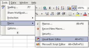 insert worksheet associated code module