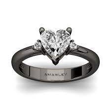 925 sterling silver v shaped heart promise ring size 5 6 7 8 9 10 black sterling silver 1 5 ct heart cut white cz cubic zirconia
