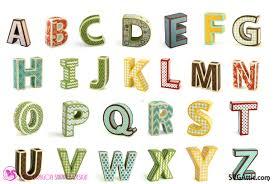 sds 3d box letters sds 3d box letters 35 00 svgattic com