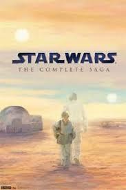 star wars anakin skywalker blu ray disc movie poster 22x34 new