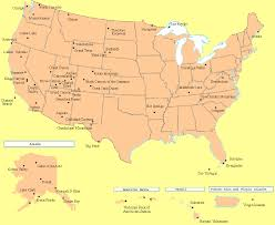 us map states national parks map usa national parks major tourist attractions maps