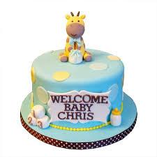 giraffe baby shower cake best custom baby shower cakes toronto bakery gta delivery
