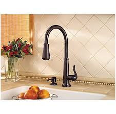 price pfister ashfield kitchen faucet tuscan bronze ashfield 1 handle pull kitchen faucet gt529