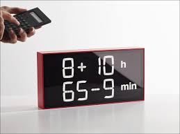desk clocks modern interiors design amazing clock for bathroom counter digital desk