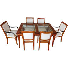 lane dining room furniture century furniture biedermeier style glass top walnut dining room