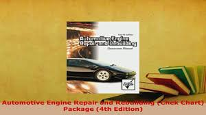 download automotive engine repair and rebuilding chek chart