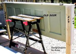 Headboard From Old Door by Designdreams By Anne Vintage Door Headboard