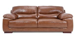 ebay brown leather sofa dfs dazzle settee brandy colour couch 3 seater leather sofa ebay