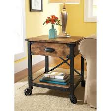Rustic Side Table Rustic Bedside Table Ideas Impressive Coffee Table And Side