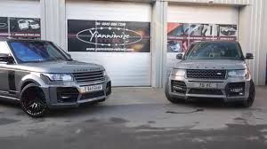 orange range rover svr double nardo grey range rovers at yiannimize youtube