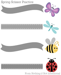 printable preschool cutting activities free printables spring themed scissor practice nothing if not
