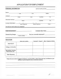 Free Blank Resume Free Printable Fill In The Blank Resume Templates Free Resume