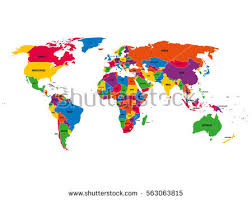 world map political with country names world map with country names stock images royalty free images