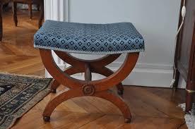 tapissier siege siège curule et fauteuil empire atelier secrea