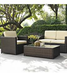 Glass Patio Furniture by Better Homes And Gardens Wicker Patio Furniture Home Design