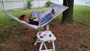 How To Make A Chair Hammock How To Make A Drop Cloth Hammock My Repurposed Life