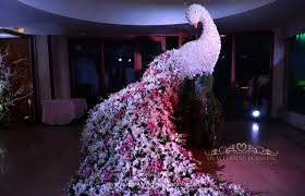 Peacock Decoration Wedding Lookbook The Best Indian And International Flowers For