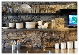 river rock backsplash interesting how to make a back splash with