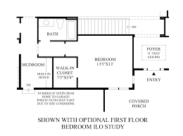 Home Plans With Mudroom by Anthem Ranch By Toll Brothers The Boulder Collection The