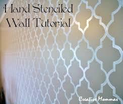 47 best paint stencil wall images on pinterest paint stencil