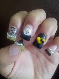 33 best steelers nail designs images on pinterest pittsburgh