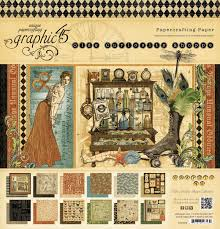 graphic 45 olde curiosity shoppe collection 12 x 12 paper pad