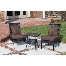 Better Homes And Gardens Outdoor Furniture Cushions 3 Piece Bistro Set Woven Seats 2 Table Chairs Cushions Patio Yard