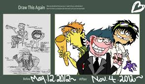 Ed Edd N Eddy Meme - draw this again meme ed edd n eddy adult hood by vaness96 on