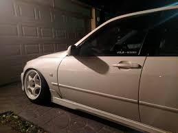 slammed lexus is200 is200 on topsy one