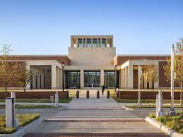 leed platinum george w bush presidential library opens in dallas