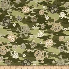 kanvas cool camo skulls olive green olives home and colors