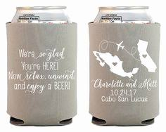 koozies for wedding 58 beautiful destination wedding koozies wedding idea