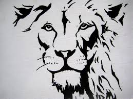 lion stencil free download clip art free clip art on clipart