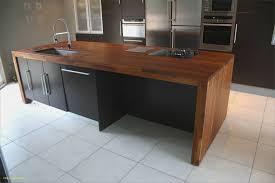 plan de cuisine en bois meuble cuisine bois massif luxe hauteur plan de travail cuisine