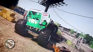 grave digger monster truck wallpaper gta gaming archive