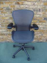 Herman Miller Aeron Executive Chair Second Hand Used Herman Miller Aeron Executive Chair Polished